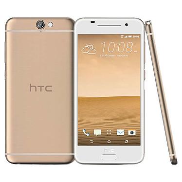 """HTC One A9 Or Topaze Smartphone 4G-LTE Advanced - Snapdragon 617 8-Core 1.5 Ghz - RAM 2 Go - Ecran tactile 5"""" 1080 x 1920 - 16 Go - NFC/Bluetooth 4.0 - 2150 mAh - Android 6.0"""