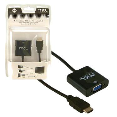 Adaptateur HDMI Mâle / VGA + Jack 3.5 mm femelles