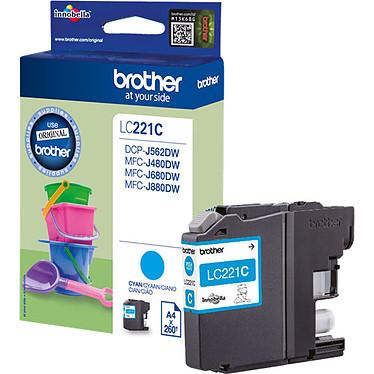 Brother LC221C (Cyan)