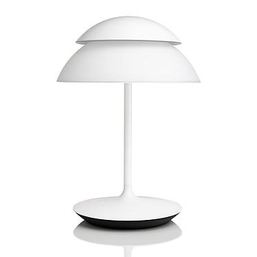 Philips Hue Beyond Lampe à poser Lampe de table à variateur de couleurs avec 16 millions de couleurs
