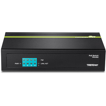 TRENDnet TPE-S50 Switch 5 ports ethernet 10/100 Mb/s dont 4 ports PoE
