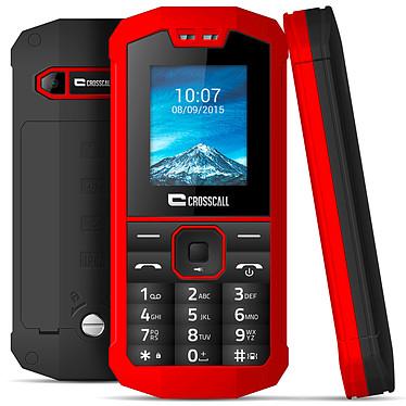 "Crosscall Spider-X1 Rouge Téléphone 2G Dual SIM IP67 - RAM 32 Mo - Ecran 1.77"" 128 x 160 - 32 Mo - Bluetooth - 1000 mAh"