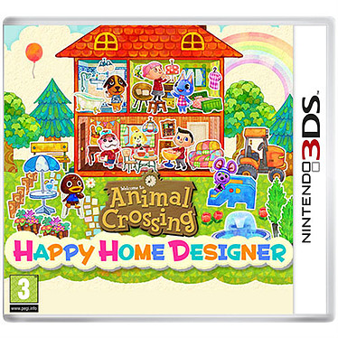 Animal Crossing : Happy Home Designer (Nintendo 3DS)