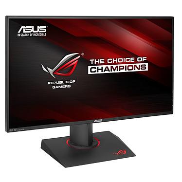 "ASUS 27"" LED - ROG Swift PG27AQ 3840 x 2160 pixels - 4 ms (gris à gris) - Format large 16/9 - Ultra Low Blue Light + Flicker Free -Pivot - HDMI/DisplayPort - Hub USB - Noir"