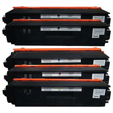 Multipack toners compatibles Brother TN-320/325/328 (noir, cyan, magenta et jaune)