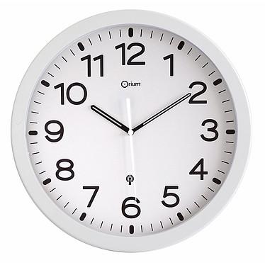 Orium Horloge radio contrôlée blanche Pendule radio contrôlée blanche