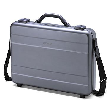 """Dicota Alu Briefcase 14/15"""" Mallette rigide en aluminium pour ordinateur portable (jusqu'à 15.6'') et tablette (jusqu'à 10"""")"""
