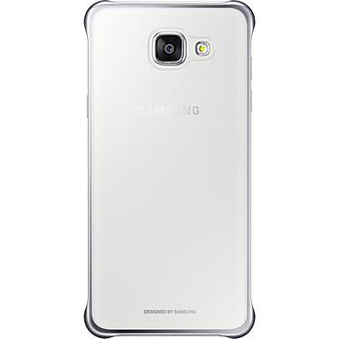 Samsung Coque Transparente et Argentée Samsung Galaxy A5 2016 Coque rigide pour Samsung Galaxy A5 2016