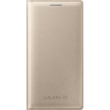 Samsung Flip Wallet Or Samsung Galaxy A3 2016 Etui portefeuille pour Samsung Galaxy A3 2016