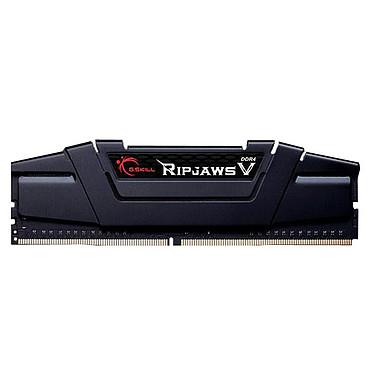 G.Skill RipJaws 5 Series Noir 16 Go (1 x 16 Go) DDR4 3200 MHz CL16 RAM DDR4 PC4-25600 - 3200C16S-16GVK