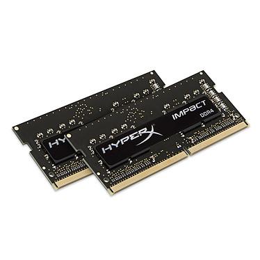 HyperX Impact SO-DIMM 16 Go (2 x 8 Go) DDR4 2666 MHz CL15 Dual Channel RAM SO-DIMM DDR4 PC4-21300 - HX426S15IB2K2/16