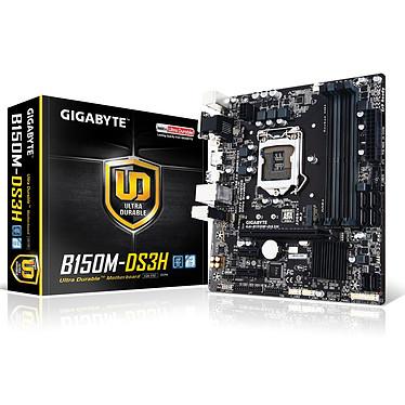 Gigabyte GA-B150M-DS3H Carte mère Micro ATX Socket 1151 Intel B150 Express - SATA 6Gb/s + M.2 - DDR4 - USB 3.0 - 1x PCI-Express 3.0 16x