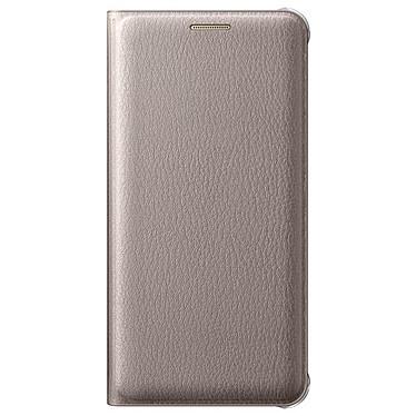 Samsung Flip Wallet Or pour Samsung Galaxy A5 2016