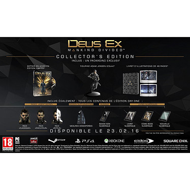 Deus Ex : Mankind Divided - Edition Collector (PC)