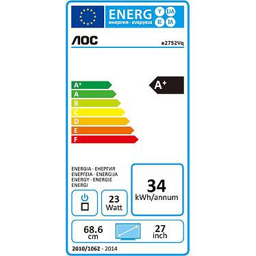 "AOC 27"" LED - e2752Vq pas cher"