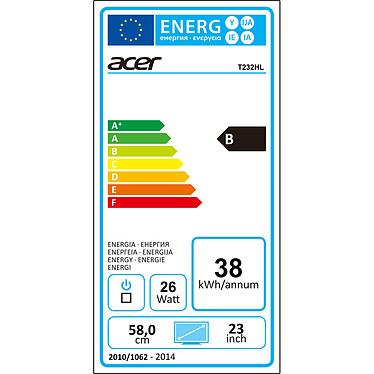 """Acer 23"""" LED Tactile - T232HLAbmjjz Touch a bajo precio"""