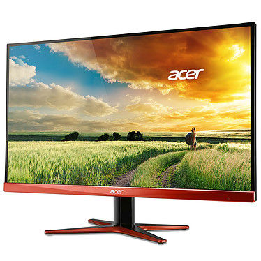 """Acer 27"""" LED - XG270HUomidpx 2560 x 1440 pixels - 1 ms - Format 16/9 - 144 Hz - DisplayPort - FreeSync - Compatible G-SYNC - Noir/Orange (Garantie constructeur 2 ans)"""