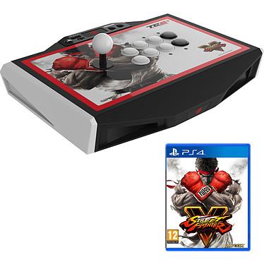 Mad Catz Street Fighter V Arcade FightStick Tournament Edition 2+ + Street Fighter V (PS4) OFFERT ! Joystick arcade USB compatible PlayStation 4 et PlayStation 3 (PS4/PS3) + jeu OFFERT !