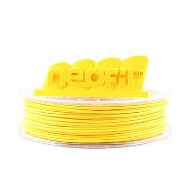 Neofil3D Bobine PLA 2.85mm 750g - Jaune