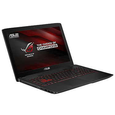 "ASUS GL552JX-DM389T Intel Core i7-4750HQ 6 Go SSD 128 Go + HDD 1 To 15.6"" LED Full HD NVIDIA GeForce GTX 950M 4 Go Wi-Fi AC/Bluetooth Webcam Windows 10 Famille 64 bits (garantie constructeur 2 ans)"