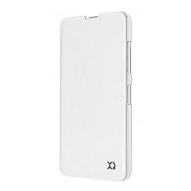 Avis xqisit Etui Flap Cover Adour Blanc Microsoft Lumia 550