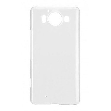 xqisit Coque iPlate Glossy Transparent Microsoft Lumia 950 Coque de protection pour Microsoft Lumia 950