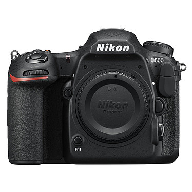 Nikon D500 Appareil photo 20.9 MP - Vidéo 4K Ultra HD - Écran tactile inclinable - Wi-Fi - Bluetooth - SnapBridge (boîtier nu)