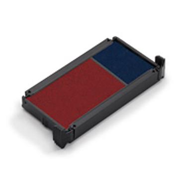 Trodat Cassette d'encrage Bleu/Rouge 6/15/2