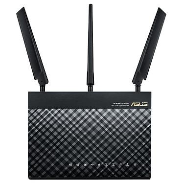 ASUS 4G-AC55U Routeur modem 4G/LTE sans fil WiFi Dual Band 1200 Mbps (300+867) + 4 ports LAN 10/100/1000 Mbps + 1 port WAN 10/100/1000 Mbps + port carte SIM