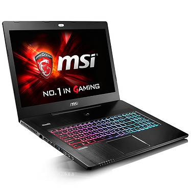 "MSI GS72 6QE-214FR Stealth Pro 4K Edition Intel Core i7-6700HQ 16 Go SSD 256 Go + HDD 1 To 17.3"" LED Ultra HD NVIDIA GeForce GTX 970M Wi-Fi AC/Bluetooth Webcam Windows 10 Famille 64 bits (garantie constructeur 2 ans)"