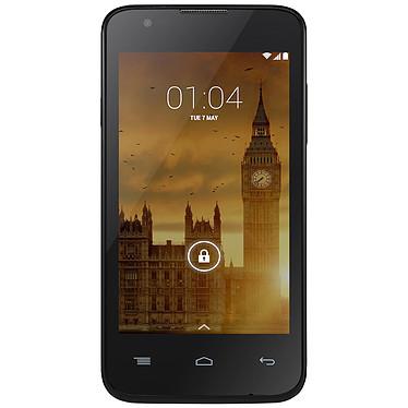 "Kazam Trooper 440L Noir Smartphone 4G-LTE - ARM Cortex-A7 Quad-Core 1.3 GHz - RAM 1 Go - Ecran tactile 4"" 480 x 800 - 8 Go - Bluetooth 4.0 - 1650 mAh - Android 4.4"