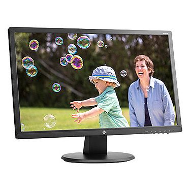 "HP 24"" LED - 24UH 1920 x 1080 pixels - 5 ms - Format large 16/9 - Noir"