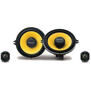 Pioneer TS-Q131C Haut-parleurs à 2 voies séparées de 13 cm pour Renault (par paire)