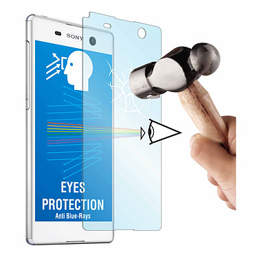 Made for Xperia Film de protection verre pour Xperia M5 Film de protection en verre trempé avec anti-rayons bleus pour Sony Xperia M5