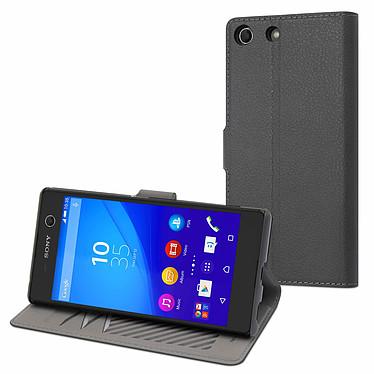 Made for Xperia Etui Slim S Gris Sony Xperia M5 Cartera para Sony Xperia M5