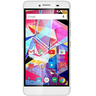 "Archos Diamond Plus Smartphone 4G-LTE Dual SIM - ARM Cortex-A53 8-Core 1.3 GHz - RAM 2 Go - Ecran tactile 5.5"" 1080 x 1920 - 16 Go - Bluetooth 4.0 - 2850 mAh - Android 5.1"