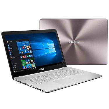 "ASUS N752VX-GC128T Intel Core i7-6700HQ 8 Go SSD 128 Go + HDD 1 To 17.3"" LED Full HD NVIDIA GeForce GTX 950M Graveur DVD Wi-Fi AC/Bluetooth Webcam Windows 10 Famille 64 bits (Garantie constructeur 2 ans)"