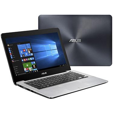 """ASUS R301UA-FN032T Noir/Argent Intel Core i5-6200U 4 Go 1 To 13.3"""" LED HD Wi-Fi N/Bluetooth Webcam Windows 10 Famille 64 bits (garantie constructeur 2 ans)"""