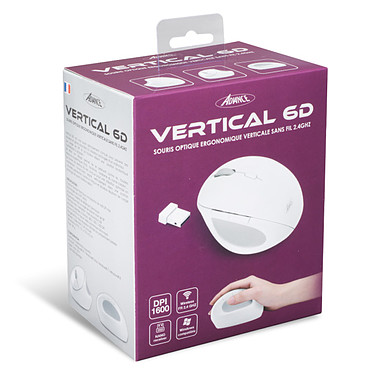 Advance Vertical 6D (blanc) pas cher