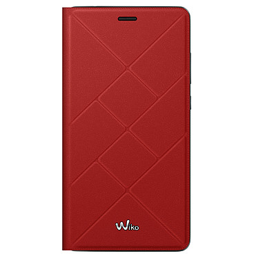 Wiko Etui Cover Back Jetlines Rouge Pulp 4G