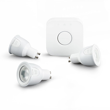 Philips Hue White & Color Kit de démarrage GU10