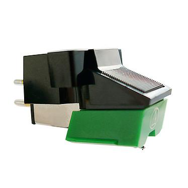 "Audio-Technica AT95E/BL Célula magnética móvil, punta elíptica, montaje de 1/2"", 20 Hz a 20 kHz"