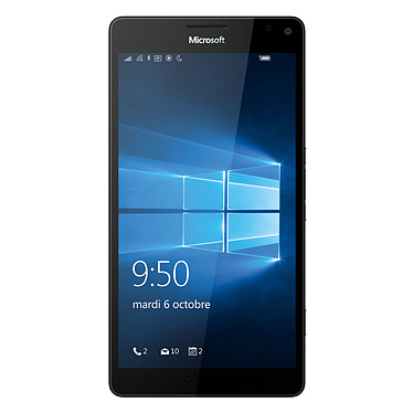 "Microsoft Lumia 950 XL Dual SIM Blanc Smartphone 4G-LTE Advanced Dual SIM - Snapdragon 810 8-Core 2.0 GHz - RAM 3 Go - Ecran tactile 5.7"" 1440 x 2560 - 32 Go - NFC/Bluetooth 4.1 - 3340 mAh - Windows 10"