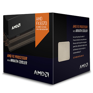 Avis AMD FX 8370 Wraith Cooler Edition (4.0 GHz)