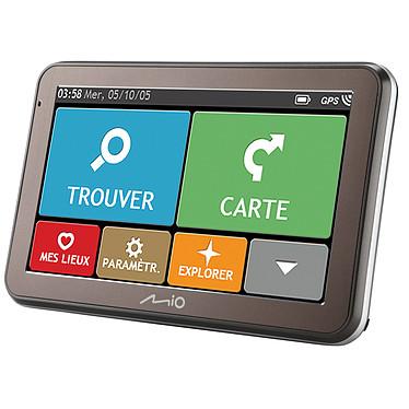 """Mio Spirit 7550 Full Europe GPS 23 pays d'Europe écran 5"""" et mise à jour des cartes à vie"""
