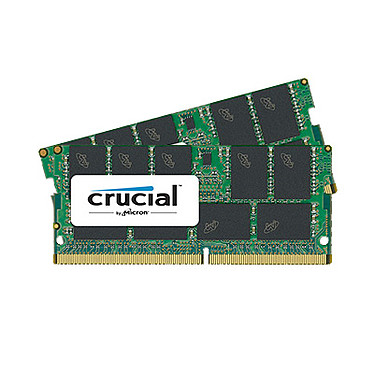 Crucial SO-DIMM DDR4 ECC 32 Go (2 x 16 Go) 2666 MHz CL17