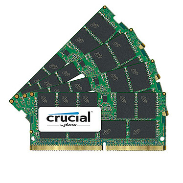 Crucial SO-DIMM DDR4 ECC 64 Go (4 x 16 Go) 2400 MHz CL17