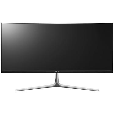 """LG 29"""" LED - 29UC97-S 2560 x 1080 pixels - 5 ms - Format 21/9 - Dalle IPS incurvée - Hub USB 3.0 - Noir/Argent"""