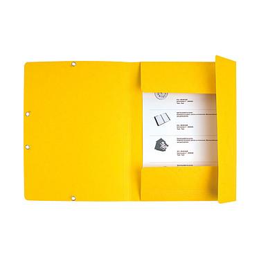 Acheter Exacompta Chemises 3 rabats élastiques 400g Assortis x 50