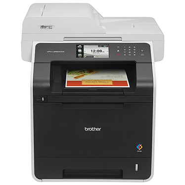 Brother MFC-L8850CDW Imprimante multifonction laser monochrome 4-en-1 (USB 2.0/Ethernet/Wi-Fi)